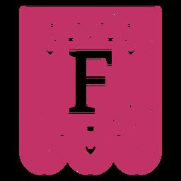 Valentine garland papercut f