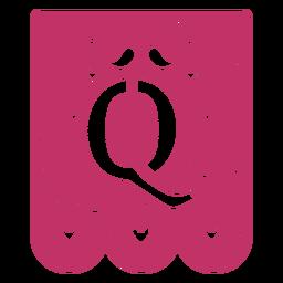 Valentine garland papercut q