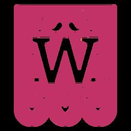 Valentine garland papercut w