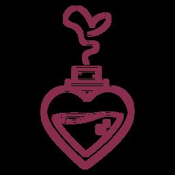 Valentine perfume love