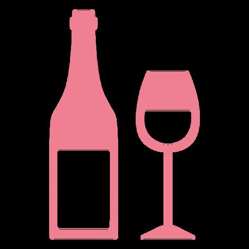 San Valent?n rosa vino