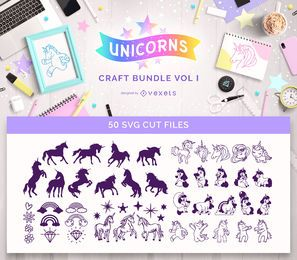 Unicorn Craft Bundle Vol I