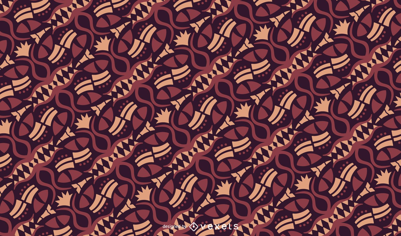 Tribal Motif Pattern Design