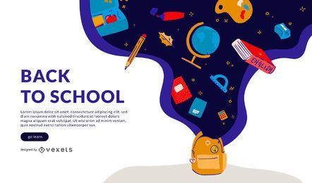 Back to school slider template
