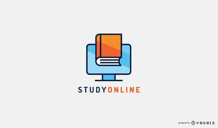 Estudiar plantilla de logotipo en línea