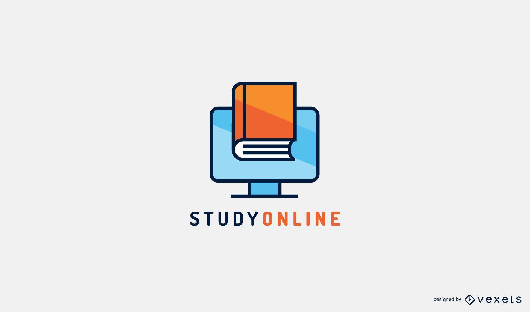Studieren Sie die Online-Logo-Vorlage