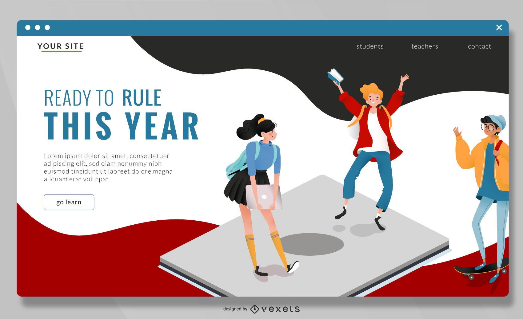 Back to high school landing page