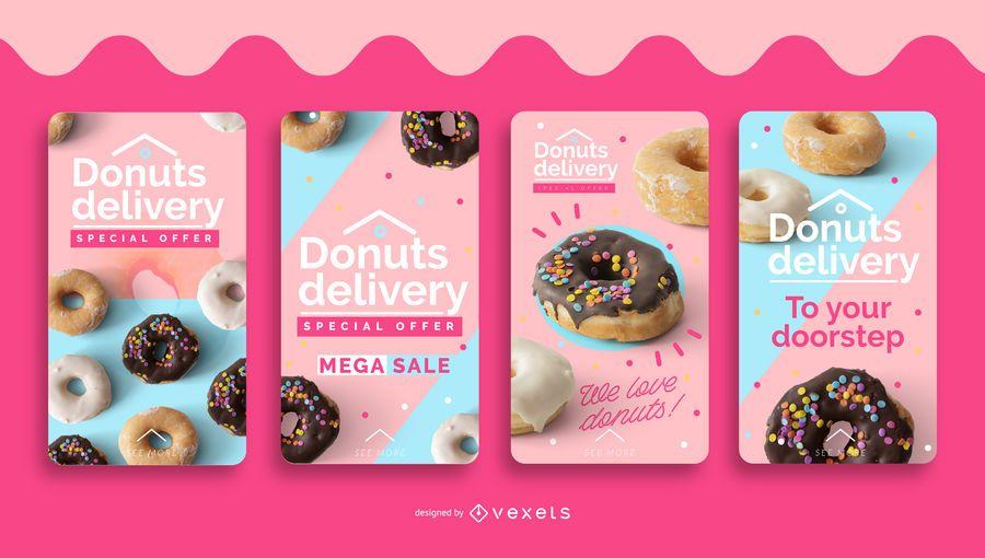 Donuts entrega conjunto de historias de redes sociales