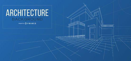 Projeto de plano de fundo de arquitetura