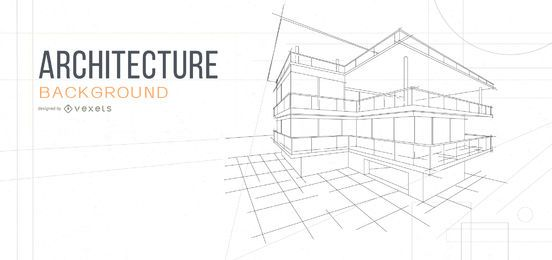 architecture background house sketch design