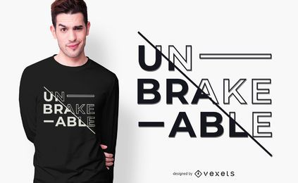 unbreakable t-shirt design