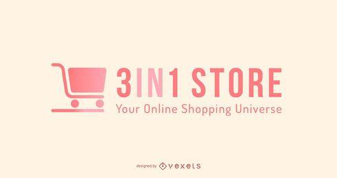 Design de logotipo para compras online