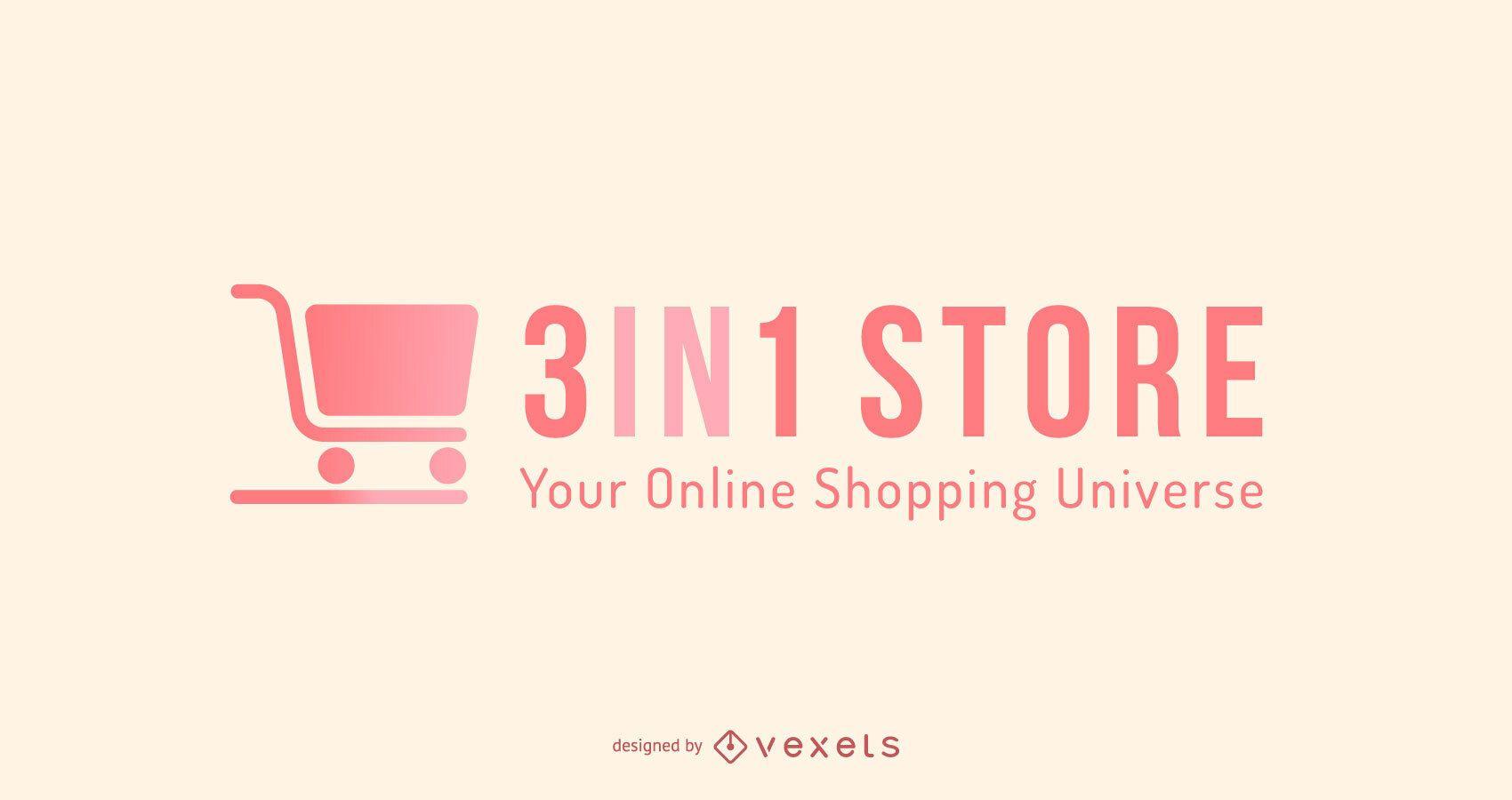 Compras en línea Diseño de logotipo