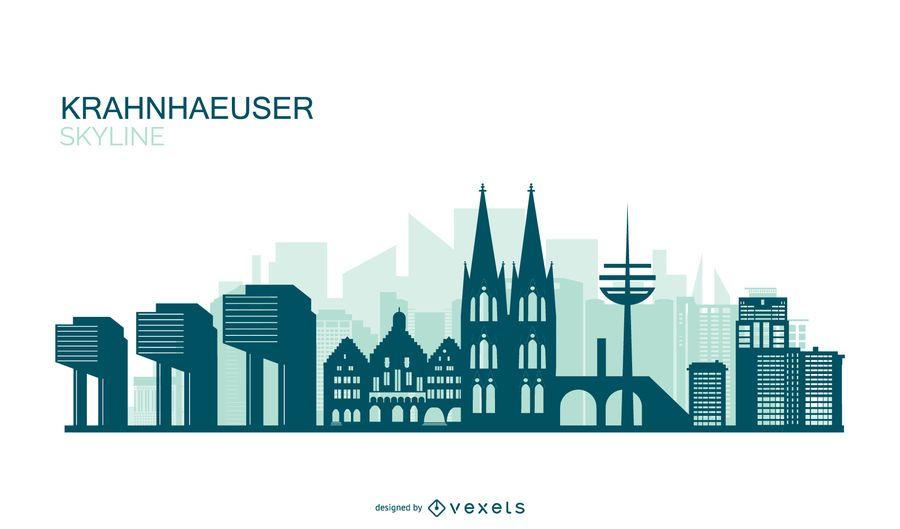 Diseño de horizonte alemán Kranhäuser