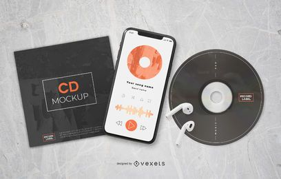 Music Composition Elements Mockup
