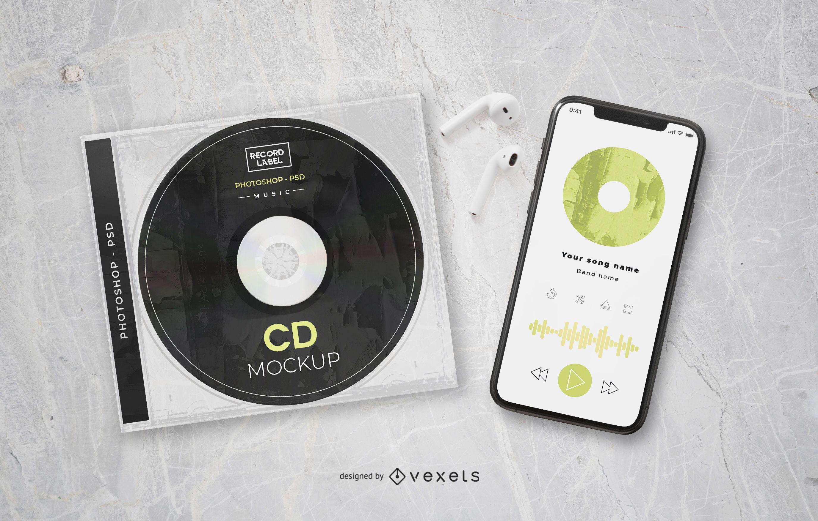 Music Elements Brand Mockup