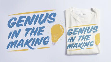 Design de t-shirt de texto de letras de escola