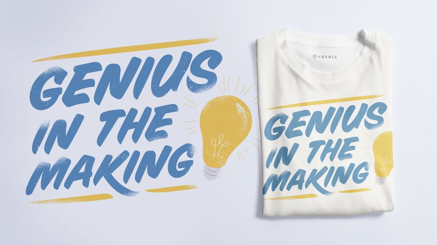 Diseño de camiseta de texto de letras escolares