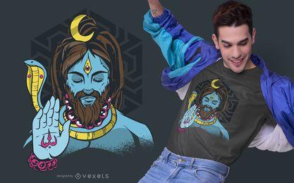 Diseño de camiseta Lord Shiva