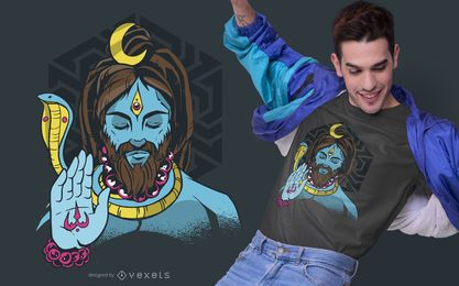 Lord Shiva T-shirt Design