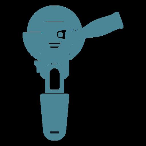 Amoladora angular azul Transparent PNG