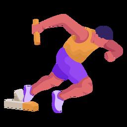 Atletismo plano