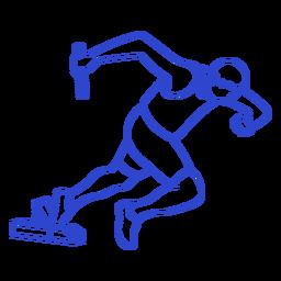 Golpe de atleta