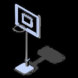 Aro de baloncesto isométrico