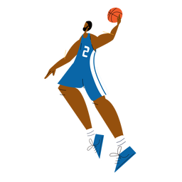 Basketball player character