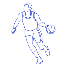Basketball player stroke
