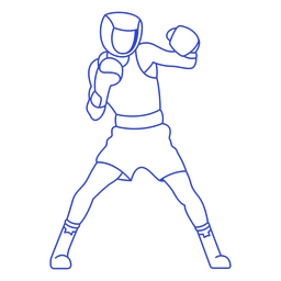 Boxer stroke