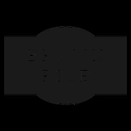 Brown rice label
