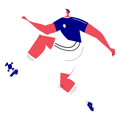 Character soccer player