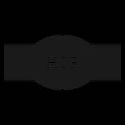 Chips label