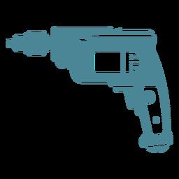 Cordless drill blue