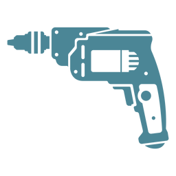 Taladro inalámbrico azul