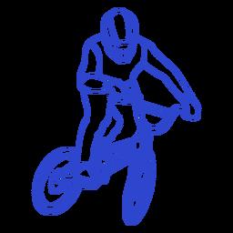 Cyclist stroke