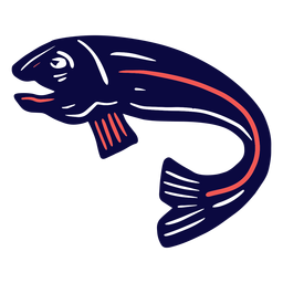 Duotone fish
