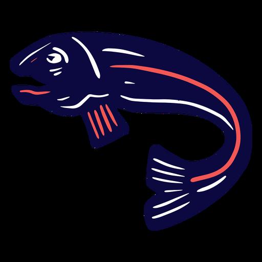 Pescado duotono Transparent PNG