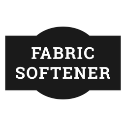 Fabric softener label
