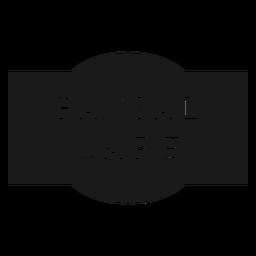 Etiqueta de cuidado facial