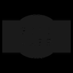 Etiqueta de cuidado de los pies