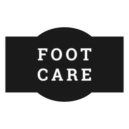 Foot care label