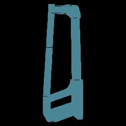 Sierra para metales azul