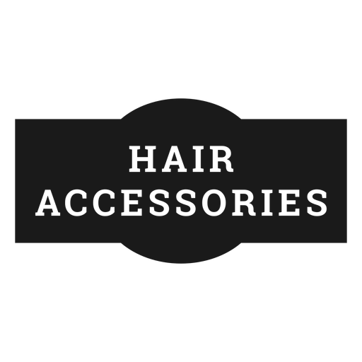 Hair accessories label