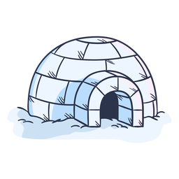 Igloo illustration