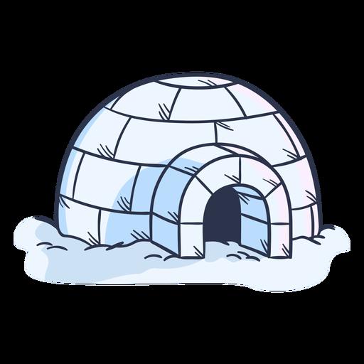 Ilustración de iglú