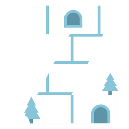 Igloo letter z