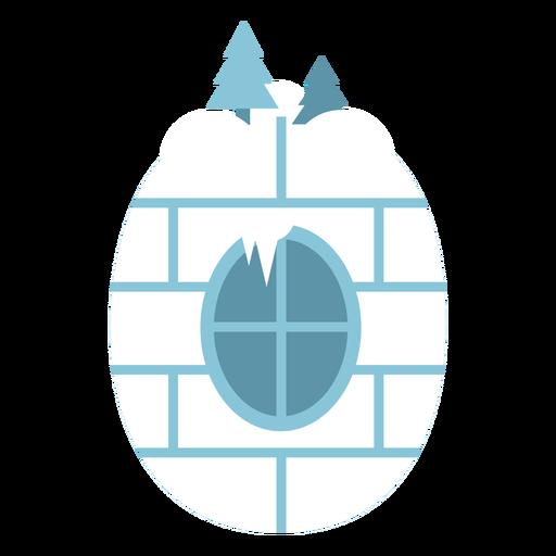 Igloo número 0 Transparent PNG