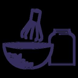 Suministros de cocina japonesa